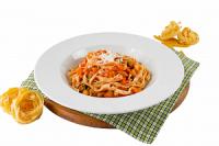 Паста Тальятелли с овощами
