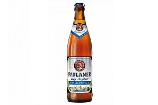 Пиво Paulaner Hefe-Weissbier non-alcoholic