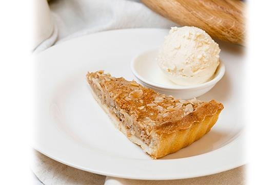 Пирог яблочный (порция)