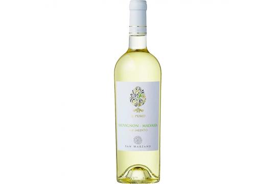 Вино белое Sauvignon-Malvasia. Il Pumo. Cantine San Marzano