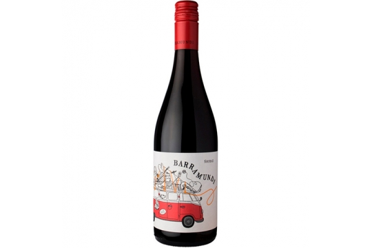 Вино красное Shiraz. Barramundi