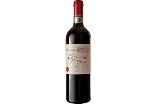 Вино красное Chianti.Tenuta di Ceppaiano